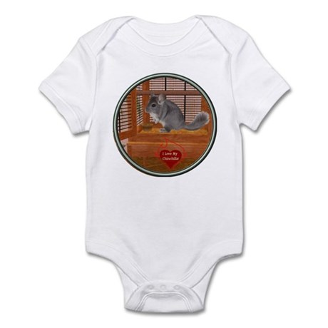 Chinchilla #1 Infant Bodysuit