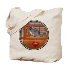 Chinchilla #1 Tote Bag