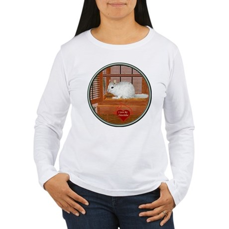 Chincilla #2 Women's Long Sleeve T-Shirt