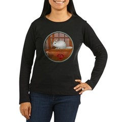 Chincilla #2 Women's Long Sleeve Dark T-Shirt