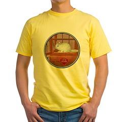 Chincilla #2 Yellow T-Shirt