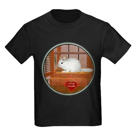 Chincilla #2 Kids Dark T-Shirt