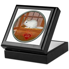 Chincilla #2 Keepsake Box