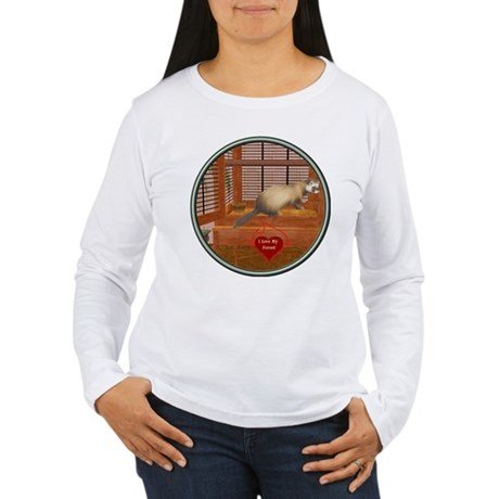 Ferret #1 Women's Long Sleeve T-Shirt