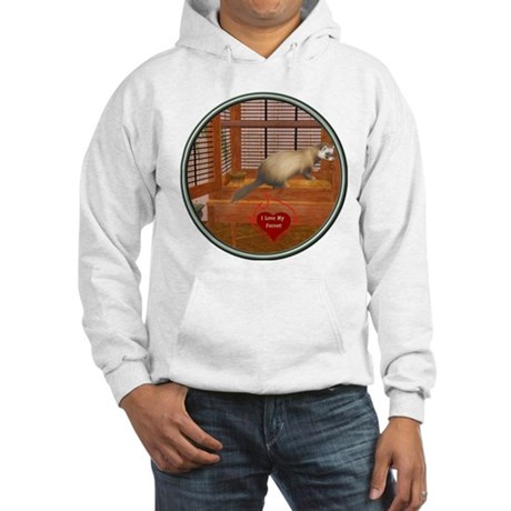 Ferret #1 Hooded Sweatshirt