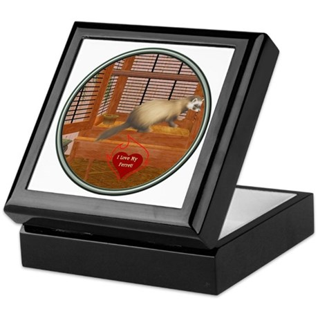 Ferret #1 Keepsake Box