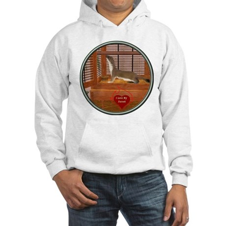 Ferret #2 Hooded Sweatshirt