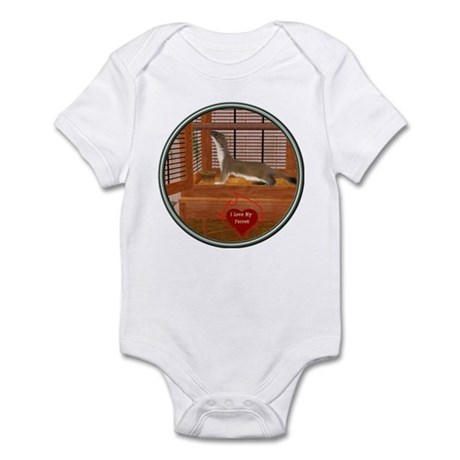 Ferret #2 Infant Bodysuit