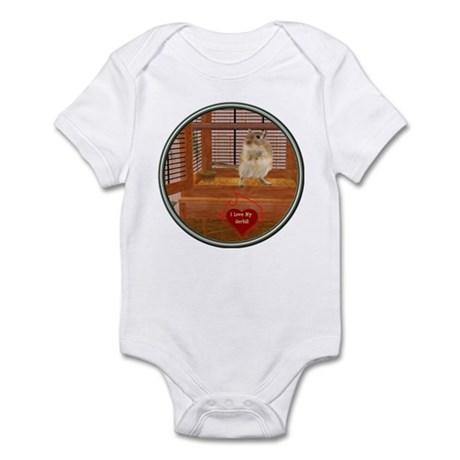Gerbil Infant Bodysuit