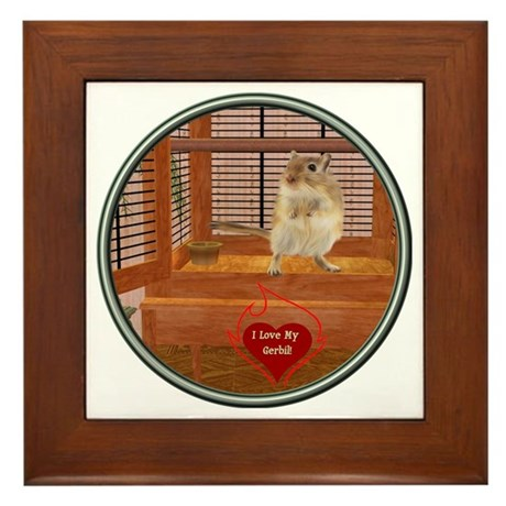 Gerbil Framed Tile