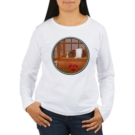 Guinea Pig #1 Women's Long Sleeve T-Shirt