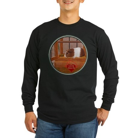 Guinea Pig #1 Long Sleeve Dark T-Shirt