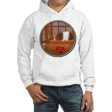Guinea Pig #1 Hooded Sweatshirt