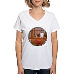 Guinea Pig #1 Women's V-Neck T-Shirt