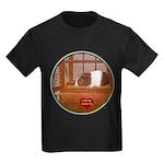 Guinea Pig #1 Kids Dark T-Shirt