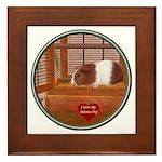 Guinea Pig #1 Framed Tile