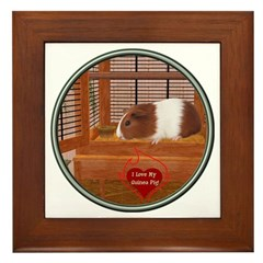 Guinea Pig #1 Framed Tile