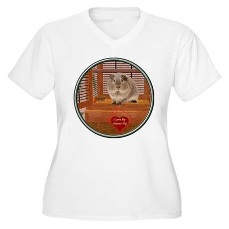 Guinea Pig #2 Women's Plus Size V-Neck T-Shirt