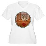 Guinea Pig #2 Women's Plus Size V-Neck T-Shirt