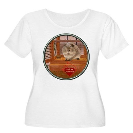 Guinea Pig #2 Women's Plus Size Scoop Neck T-Shirt