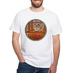 Guinea Pig #2 White T-Shirt