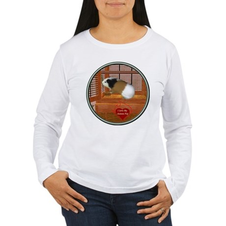 Guinea Pig #3 Women's Long Sleeve T-Shirt