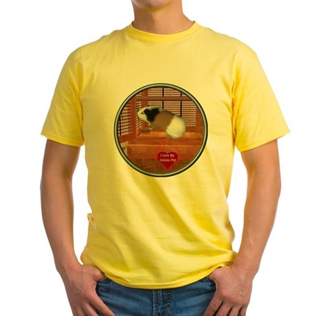 Guinea Pig #3 Yellow T-Shirt