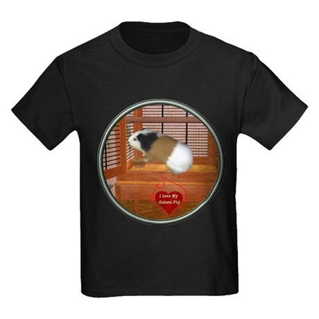 Guinea Pig #3 Kids Dark T-Shirt