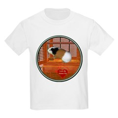 Guinea Pig #3 Kids Light T-Shirt