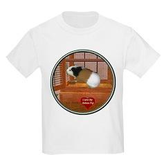 Guinea Pig #3 Kids Light T-Shirt