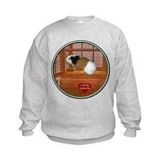 Guinea Pig #3 Kids Sweatshirt