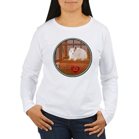 Hamster #1 Women's Long Sleeve T-Shirt