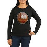 Hamster #1 Women's Long Sleeve Dark T-Shirt