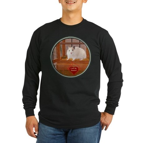 Hamster #1 Long Sleeve Dark T-Shirt