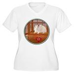 Hamster #1 Women's Plus Size V-Neck T-Shirt