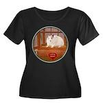 Hamster #1 Women's Plus Size Scoop Neck Dark T-Shi