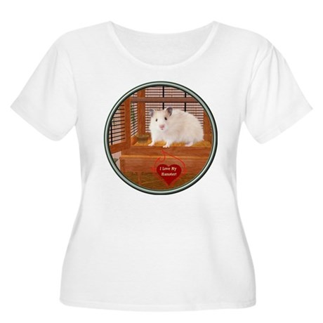 Hamster #1 Women's Plus Size Scoop Neck T-Shirt