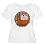 Hamster #1 Women's Plus Size Scoop Neck T-Shirt