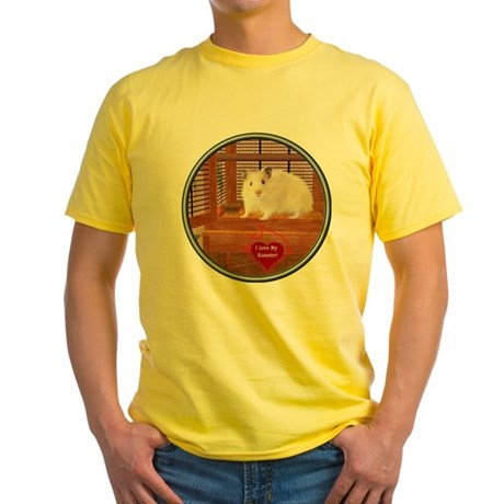 Hamster #1 Yellow T-Shirt
