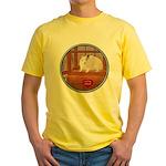 Hamster #1 Yellow T-Shirt