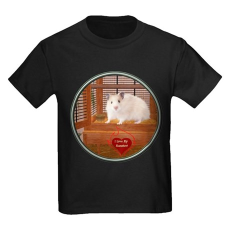 Hamster #1 Kids Dark T-Shirt