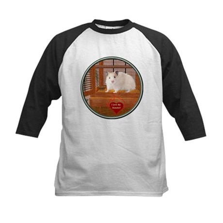 Hamster #1 Kids Baseball Jersey