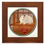 Hamster #1 Framed Tile