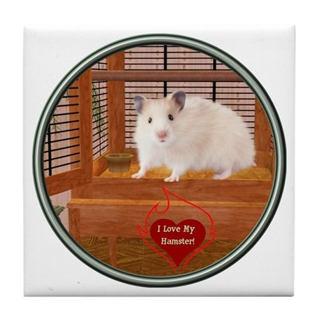 Hamster #1 Tile Coaster