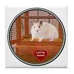 Hamster #1 Tile Coaster