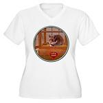 Hamster #2 Women's Plus Size V-Neck T-Shirt