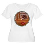 Hamster #2 Women's Plus Size Scoop Neck T-Shirt