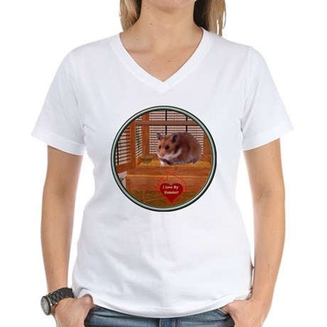 Hamster #2 Women's V-Neck T-Shirt
