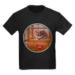 Hamster #2 Kids Dark T-Shirt