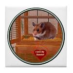 Hamster #2 Tile Coaster
